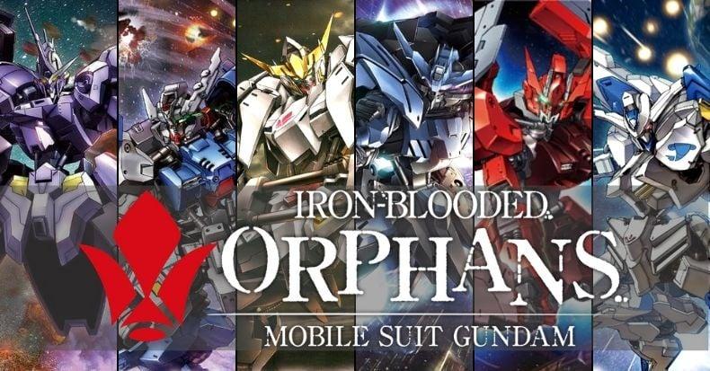 Top Gundam đẹp nhất trong series Gundam Iron-Blooded Orphans