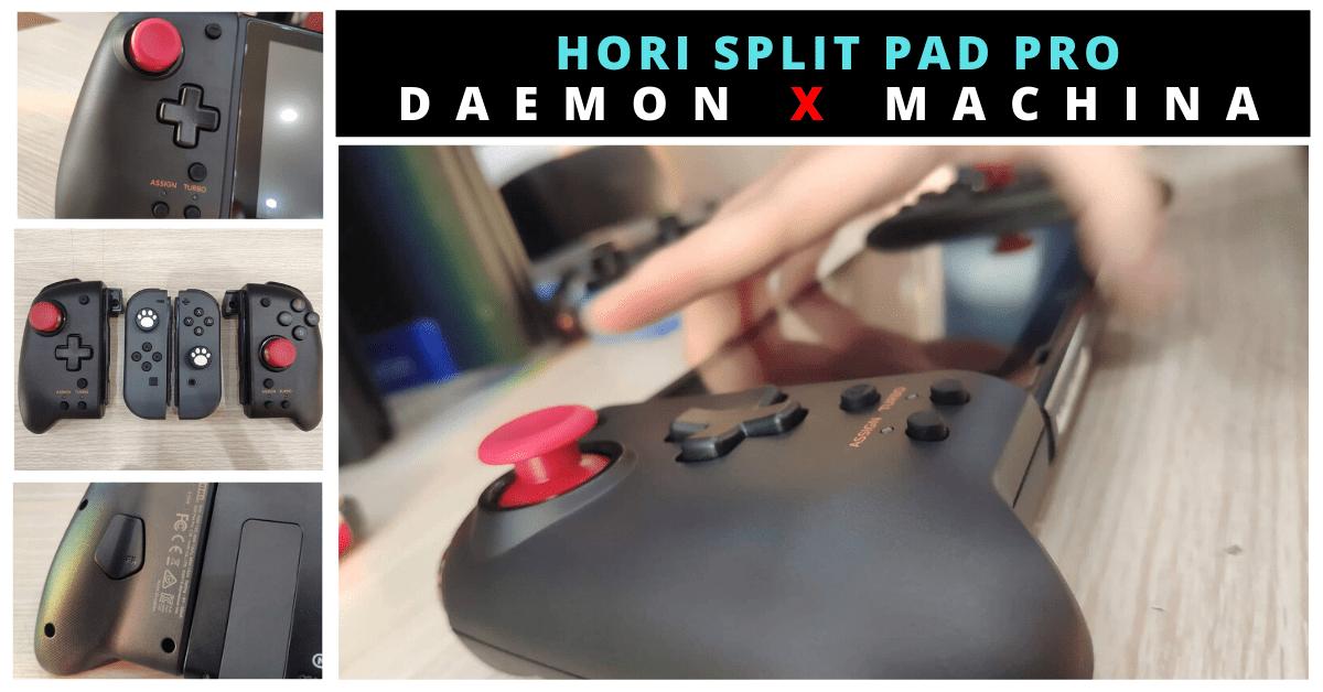 HORI Nintendo Switch Split Pad Pro DAEMON x MACHINA - Tay cầm siêu chất cho game thủ!