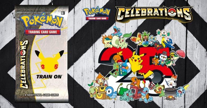Pokemon TCG Celebrations chuẩn bị tung hàng loạt sản phẩm từ tháng 10