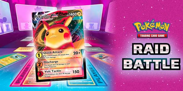 Pokemon TCG Raid Battle - Chơi bài Pokemon kiểu mới 2020