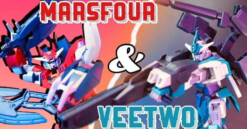 Review mô hình HG Core Gundam Marsfour & Veetwo cùng nShop