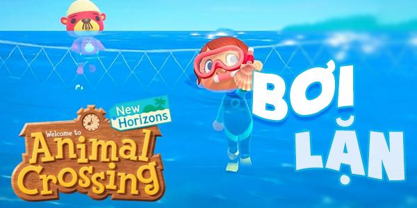 40 loài sinh vật bạn có thể bắt khi bơi lặn trong Animal Crossing New Horizons