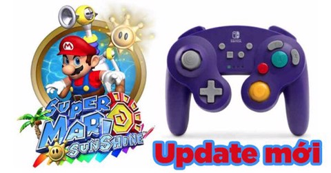 Super Mario 3D All-Stars hỗ trợ tay GameCube