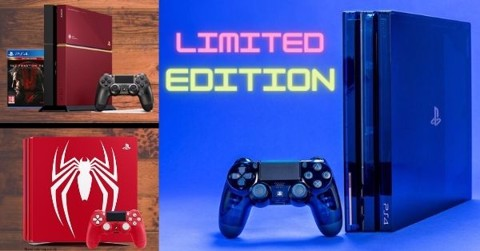10 thiết kế PlayStation 4 Limited Edition đẹp nhất
