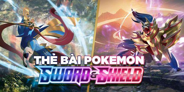 2 thẻ VMAX mới của Pokemon TCG Sword & Shield