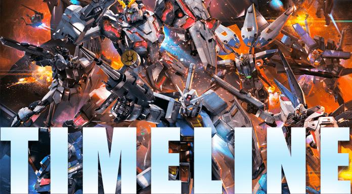 11 Timeline Gundam - Xem phim Gundam thứ tự nào?