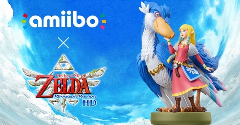 Nintendo ra mắt amiibo Zelda & Loftwing cho Skyward Sword HD
