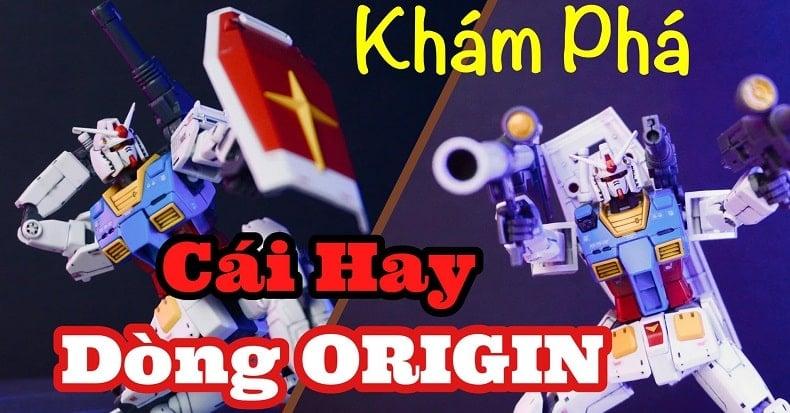 Ráp Review mô hình cụ tổ Rx-78-02 Gundam The Origin Ver. HG 1/144 cùng nShop