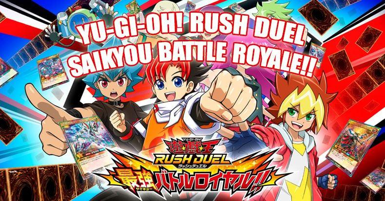 Yu-Gi-Oh! Rush Duel: Saikyou Battle Royale!! có bản Nhật vào tháng 8