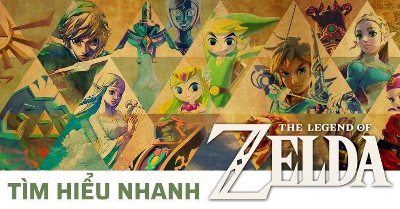 Zelda là gì? Tìm hiểu nhanh về dòng game danh giá của Nintendo