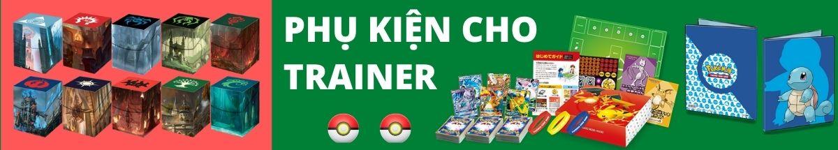 Phụ kiện bảo vệ bài Pokemon | Bọc bài - Deck box - Album - Thảm