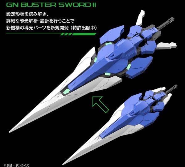 00 Gundam Seven SwordG PG thật