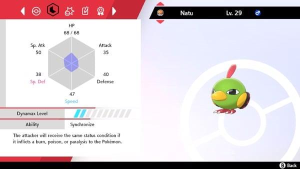 Hướng dẫn Pokemon cách tìm Pokemon Nature đúng bằng Ability Synchronize