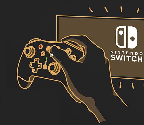 wake máy nintendo switch