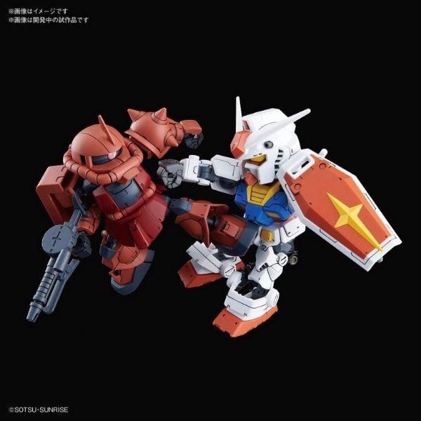 Mô hình Gunpla RX-78-2 Gundam & MS-06S Zaku II (SD Gundam Cross Silhouette) Gundam Store Vn