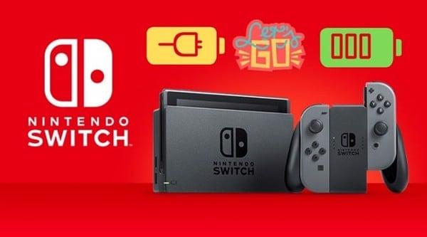 3 bước phục hồi pin Nintendo Switch