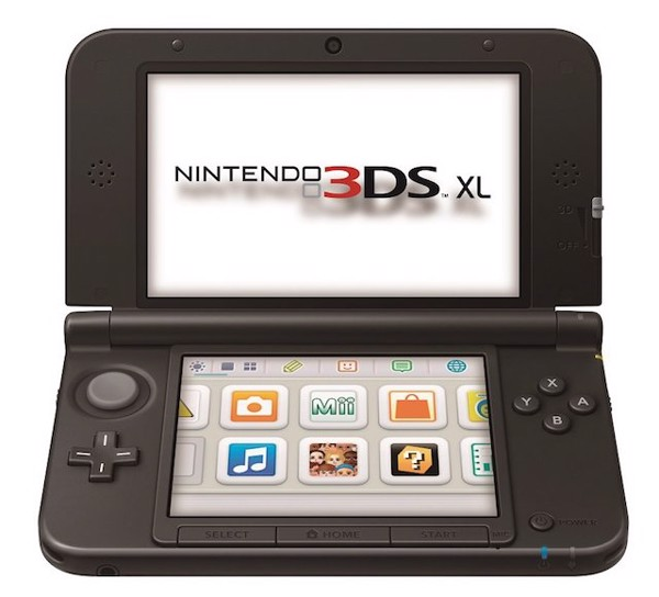 3DS XL blue second-hand