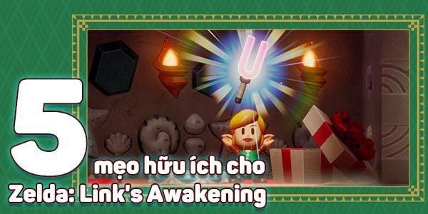 5 mẹo Zelda Links Awakening