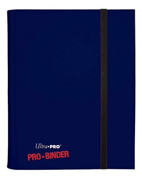 9 Pocket PRO Binder Dark Blue