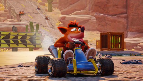 shop game bán CTR Crash Team Racing Nitro Fueled cho Nintendo Switch đua xe cáo