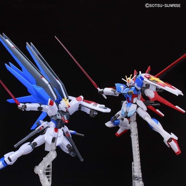 Mô hình Gundam Limited ZGMF-X20A STRIKE FREEDOM GUNDAM vs FORCE IMPULSE GUNDAM (BATTLE OF DESTINY) [METALLIC]