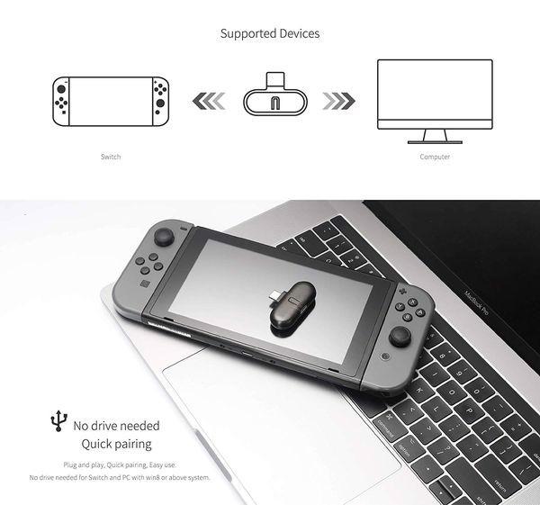 phụ kiện Bluetooth adapter gulikit route + pro Nintendo Switch chính hãng