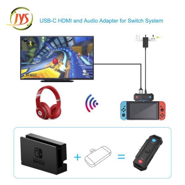 mua bán JYS 2 in 1 TV converter and audio adapter Nintendo Switch giá rẻ