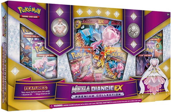 MEGA DIANCIE EX PREMIUM COLLECTION POKEMON TRADING CARD GAME