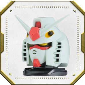 gunpla shop bán Exceed Model Gundam Head 2 RX-78-2 Gundam Anime White Color