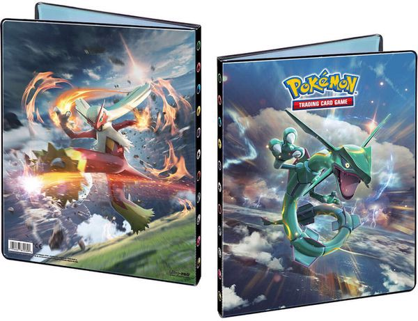 shop pokemon bán Album đựng bài 9-Pocket Pokemon Rayquaza Blaziken