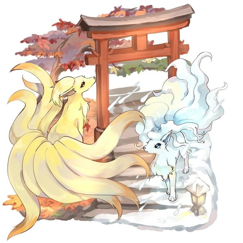 Top Pokemon đẹp nhất Ninetales