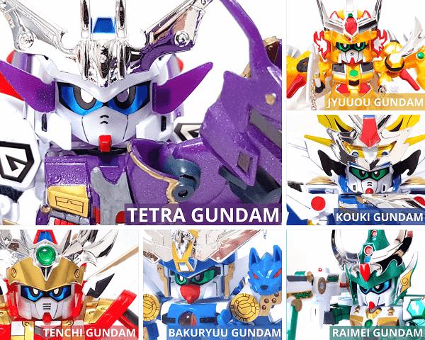 Gundam Giá rẻ shin sd sengokuden shichinin no cho shogun chính hãng bandai