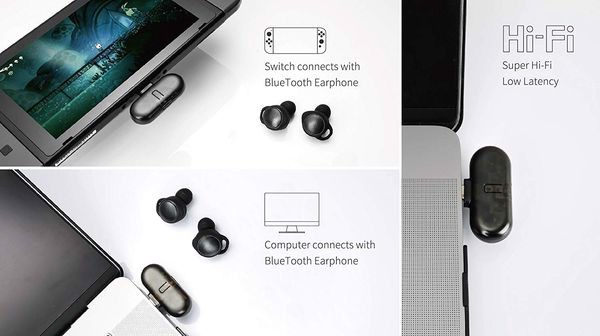 cửa hàng game bán phụ kiện Bluetooth adapter gulikit route + pro Nintendo Switch