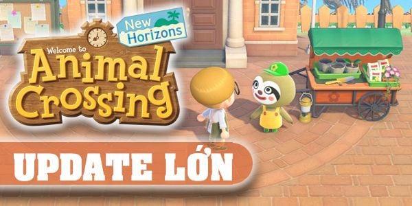animal crossing new horizons update tháng 4