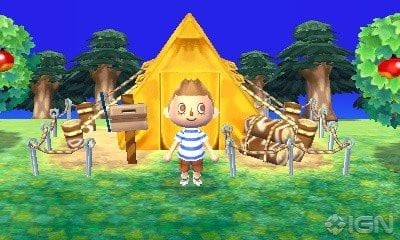 ANIMAL CROSSING NEW LEAF nshop