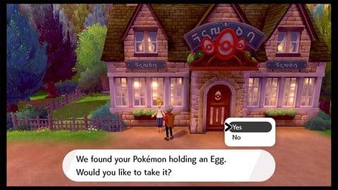 Ấp trứng trong Pokemon Sword và Shield