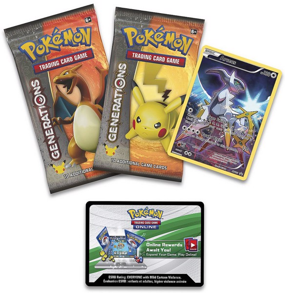 ARCEUS POKEMON TRADING CARD GAME