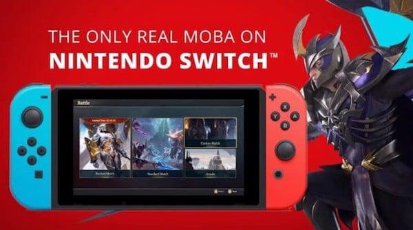 Liên quân mobile trên Nintendo Switch