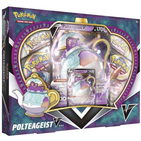 bài Pokemon Polteageist V Box chính hãng