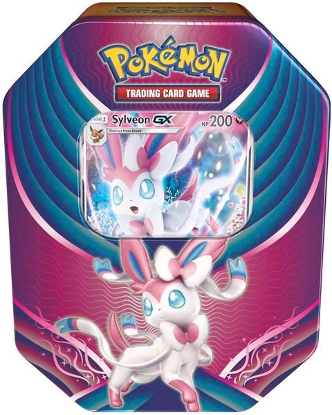 bài pokemon Sylveon-GX Evolution Celebration Tin
