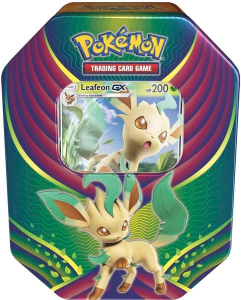 Bài Pokemon Leafeon-GX Evolution Celebration Tin thật