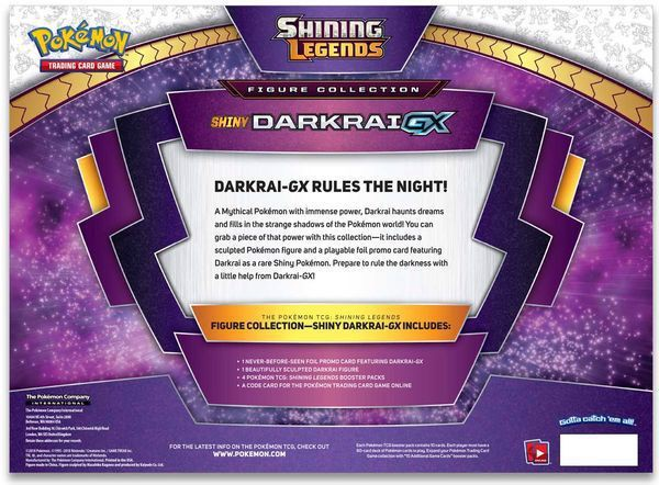 bài Shiny Darkrai-GX Box Pokemon TCG