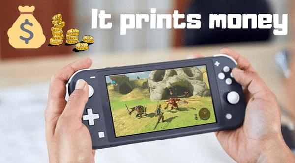bán Nintendo Switch Lite đắt như tôm tươi