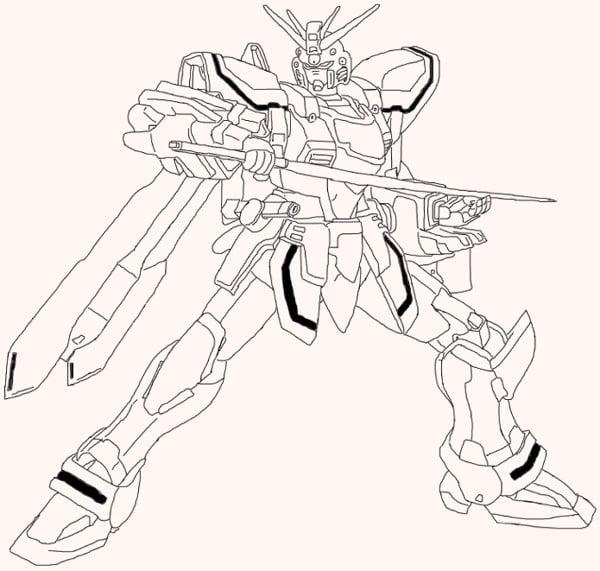 Bản thiết kế God Gundam