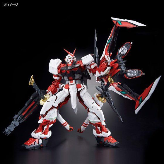 Bản thiết kế Gundam Astray Red Frame Kai Bandai