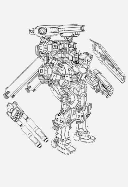 Bản thiết kế Gundam Full Armor