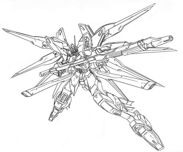 Bản thiết kế Gundam Strike Freedom