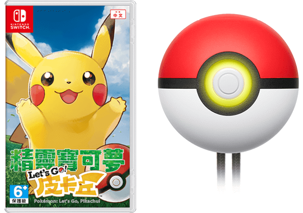 băng game pokemon lets go pikachu poke ball plus