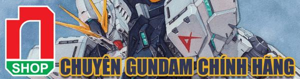 banner gundam chính hãng nshop