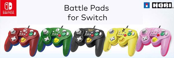 battle pad Tay HORI GameCube cho Nintendo Switch real
